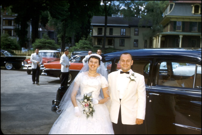 1956 Southern Maine Wedding