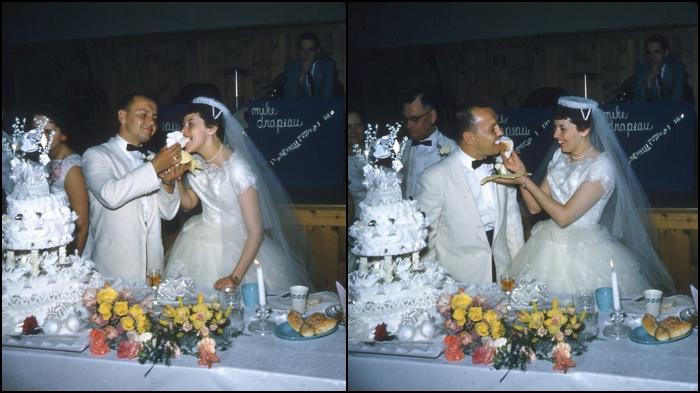 Retro Wedding Photography in Maine